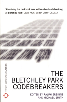 Bletchley Park Codebreakers, Paperback Book