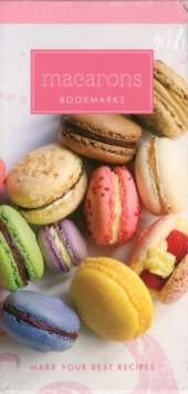 Macarons Recipe Bookmarks, Other merchandise Book