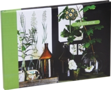 Botanical Style Guest Book, Record book Book