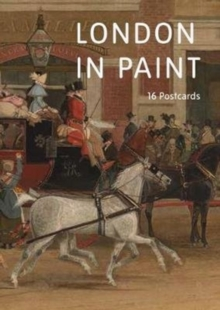 London in Paint: A Book of Postcards, Hardback Book