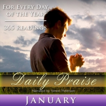 Daily Praise : January, eAudiobook MP3 eaudioBook