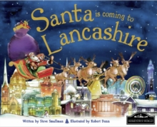 Santa is Coming to Lancashire, Hardback Book