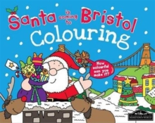 Santa is Coming to Bristol Colouring, Paperback / softback Book