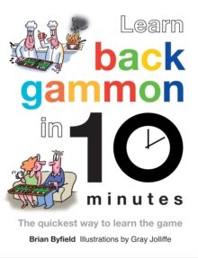 Learn Backgammon in 10 Minutes, Hardback Book
