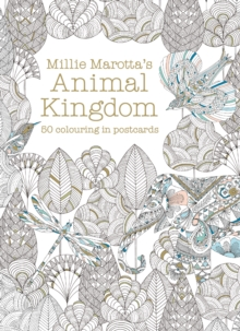 Millie Marotta's Animal Kingdom Postcard Box : 50 beautiful cards for colouring in, Postcard book or pack Book