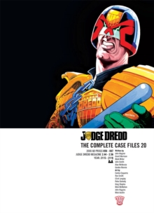 Judge Dredd : The Complete Case Files 20, PDF eBook