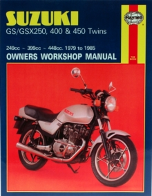 Suzuki Gs/GSX250, 400 & 450 Twins (79 - 85), Paperback / softback Book