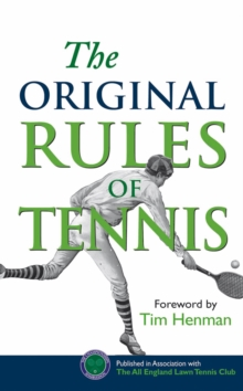 The Original Rules of Tennis, Hardback Book