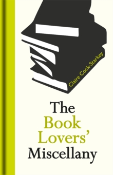 The Book Lovers' Miscellany, Hardback Book