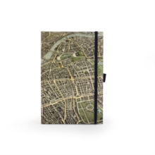 London Map Journal, Notebook / blank book Book