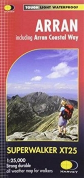Arran Including Arran Coastal Way XT25, Sheet map, folded Book