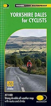 Yorkshire Dales for Cyclists XT100, Sheet map, folded Book