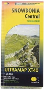 Snowdonia Central, Sheet map, folded Book