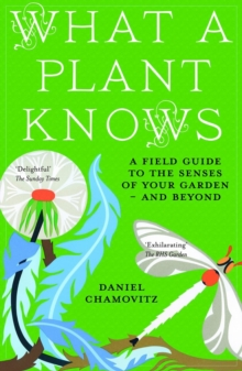 What a Plant Knows : A Field Guide to the Senses of Your Garden - and Beyond, Paperback Book