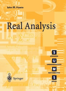 Real Analysis, Paperback Book