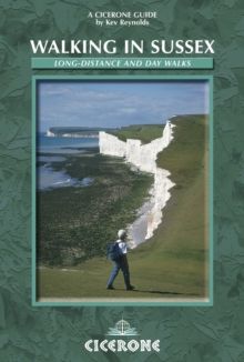 Walking in Sussex : Long distance and day walks, Paperback / softback Book