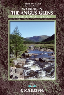 Walking in the Angus Glens, Paperback Book