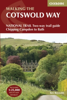 The Cotswold Way : NATIONAL TRAIL Two-way trail guide - Chipping Campden to Bath, Paperback / softback Book