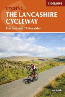 The Lancashire Cycleway : The tour and 17 day rides, Paperback Book