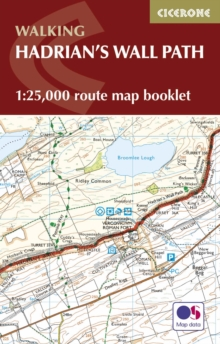 Hadrian's Wall Path Map Booklet : 1:25,000 OS Route Mapping, Paperback / softback Book
