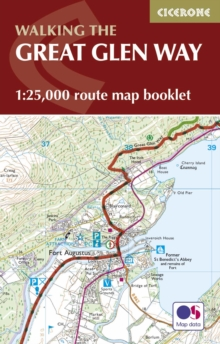 The Great Glen Way Map Booklet : 1:25,000 OS Route Mapping, Paperback / softback Book