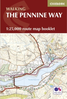 Pennine Way Map Booklet : 1:25,000 OS Route Mapping, Paperback Book
