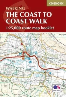 The Coast to Coast Map Booklet : 1:25,000 OS Route Map Booklet, Paperback Book