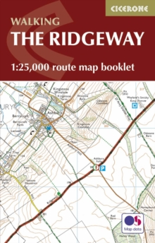 The Ridgeway Map Booklet : 1:25,000 OS Route Mapping, Paperback Book