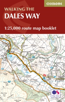 The Dales Way Map Booklet, Paperback Book
