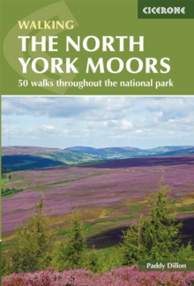 The North York Moors : 50 walks in the National Park, Paperback / softback Book
