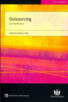Outsourcing : Law and Practice, Paperback Book