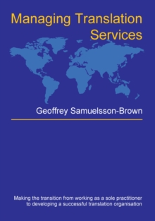 Managing Translation Services, PDF eBook