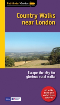 Pathfinder Country walks near London, Paperback Book