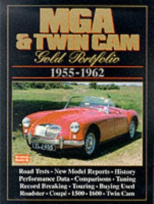 MG, MGA and Twin Cam Gold Portfolio, 1955-62, Paperback Book