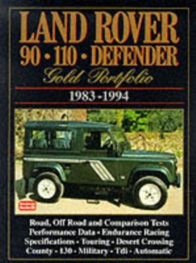 Land Rover 90/110 Defender Gold Portfolio, 1983-94, Paperback / softback Book
