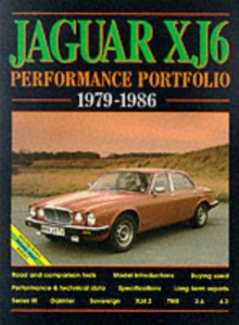 Jaguar XJ6 Series 3 Performance Portfolio 1979-1986, Paperback / softback Book