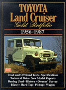 Toyota Land Cruiser Gold Portfolio : 1956 to 1987, Paperback / softback Book