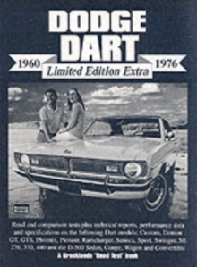 Dodge Dart Limited Edition Extra 1960-1976, Paperback / softback Book