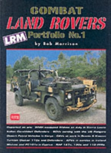 Combat Land Rovers Portfolio No.1, Paperback Book