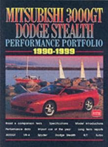Mitsubishi 3000GT Dodge Stealth Performance Portfolio, Paperback Book