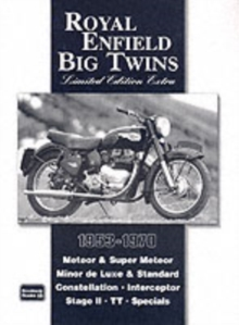 Royal Enfield Big Twins Limited Edition Extra, Paperback Book