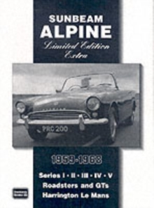 Sunbeam Alpine Limited Edition Extra 1959-1968, Paperback Book