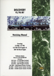 Land Rover Discovery 95/98 My  Workshop Manual : LRL 0079 ENG, Paperback / softback Book