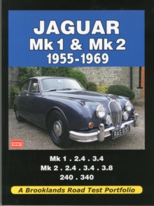 Jaguar Mk 1 and Mk 2 1955-1969 Road Test Portfolio, Paperback Book
