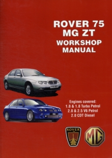 Rover 75 and MG ZT Workshop Manual, Paperback Book
