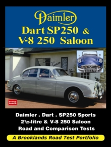 Daimler Dart SP250 & V-8 250 Saloon Road Test Portfolio, Paperback / softback Book
