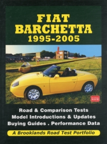 Fiat Barchetta 1995-2005 Road Test Portfolio, Paperback Book