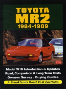 Toyota MR2 1984-1989 a Brooklands Road Test Portfolio, Paperback / softback Book