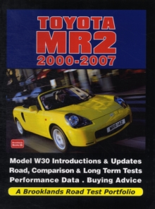 Toyota MR2 2000-2007 a Brooklands Road Test Portfolio, Paperback / softback Book