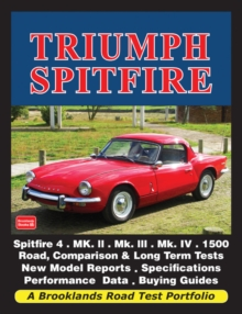 Triumph Spitfire : A Brooklands Road Test Portfolio, Paperback Book